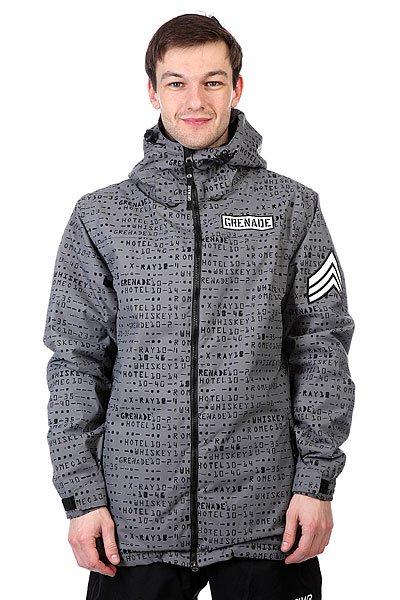 ������ Grenade Matrix Jacket Grey