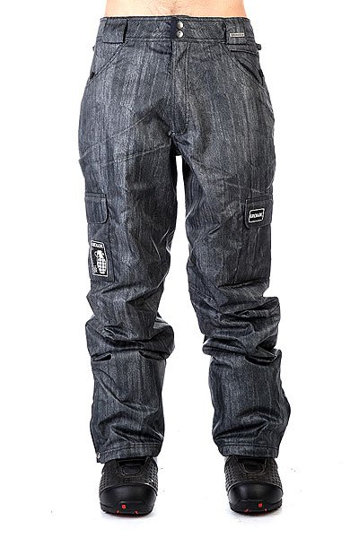 ����� ��������������� Grenade Pant Army Corp Black Denim