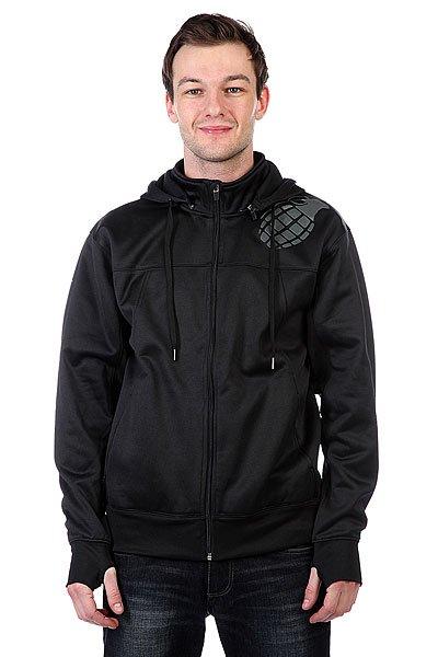 Толстовка сноубордическая Grenade Tech Hoodie Black<br><br>Цвет: черный<br>Тип: Толстовка сноубордическая<br>Возраст: Взрослый<br>Пол: Мужской