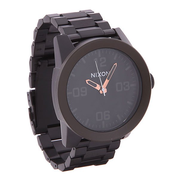Часы Nixon Corporal Ss Matte Black/ Industrial Green часы nixon corporal ss matte black industrial green