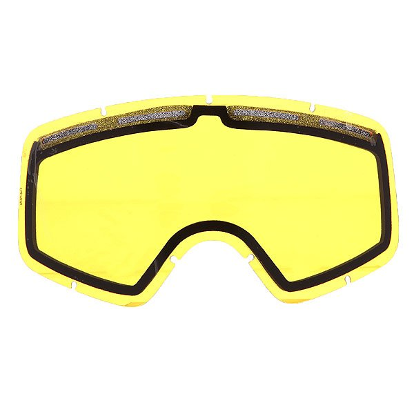Линза для маски Von Zipper Lens Beefy Yellow линза для маски von zipper lens feenom nls yellow