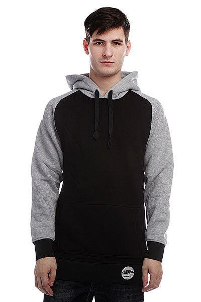 Кенгуру Shweyka Minimal Grey/Black<br><br>Цвет: серый,черный<br>Тип: Толстовка кенгуру<br>Возраст: Взрослый<br>Пол: Мужской