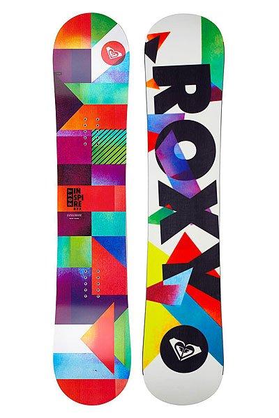 Сноуборд детский Roxy Inspire BTX - Youth Assorted 128Будущее сноубординга здесь.Inspire BTX предназначен для легкого катания, которое рождает уверенность и стимулирует дальнейший прогресс. Молодым сноубордисткам хочется кататься на этой доске снова и снова. Маленькая доска с огромной производительностью, технология BTX сочетает в себе дружелюбное катание с Traction технологией, которая держит зарезку канта даже на льду. Этот сноуборд подталкивает к новым свершениям и сегодняшние маленькие райдеры станут звездами в будущем. Характеристики:     Профиль BTX: Banana Technology. Профиль сноуборда похож на банан, края доски загнуты вверх. На жестких участках контактная длина снаряда сокращена, что повышает маневренность и доску легко крутить. В глубоком же снегу полезная площадь контакта увеличивается, а за счет поднятых краев доска с легкостью выныривает из снега. Форма - True Twin (оригинальна форма Twin с симметричными краями).  Обработка краев защитным кантом Magne traction. Сердечник: Kind Hearted.Скользяк: CX 2500.Оплетка – Biax Fiberglass. Гибкость – 4 из 10.<br><br>Тип: Сноуборд<br>Возраст: Детский