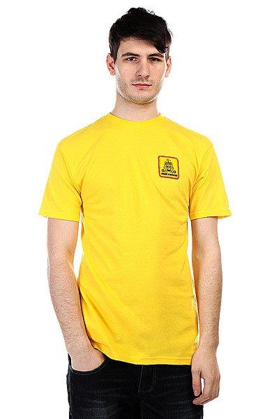 Футболка Analog Aloha Ss Yellow<br><br>Цвет: желтый<br>Тип: Футболка<br>Возраст: Взрослый<br>Пол: Мужской