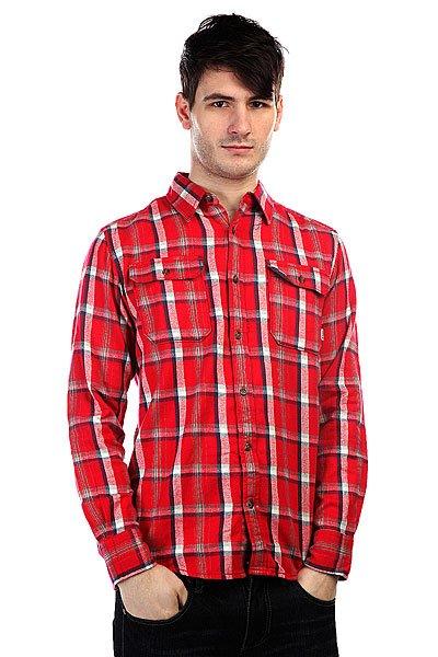 Рубашка в клетку Burton Mb Brighton Ls Wvn Chili Pepr Utica Pld