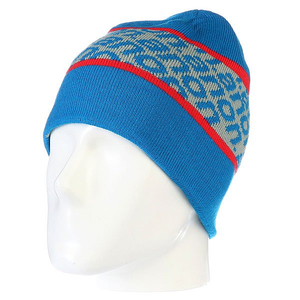 ����� ������������ ������� Anon Parkview Beanie Blue
