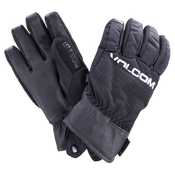 Перчатки сноубордические Volcom Full Pipe Black
