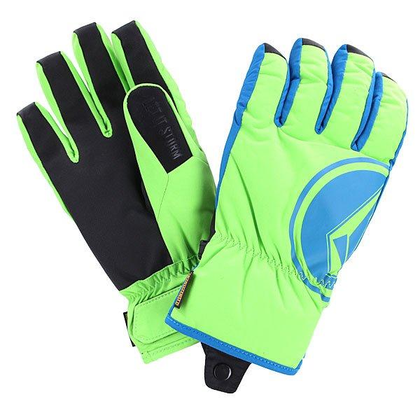 Перчатки сноубордические Volcom Bankshot Lime