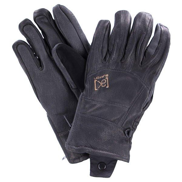 Перчатки сноубордические Burton M Ak Leather Tech True Black