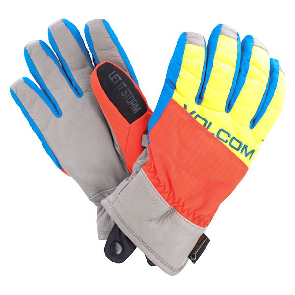 Перчатки сноубордические Volcom Full Pipe Orange