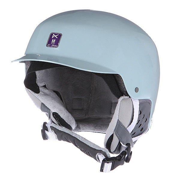 Купить Шлемы   Шлем для сноуборда женский Anon Aera Light Blue