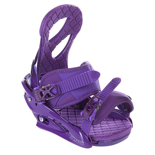 Крепления для сноуборда женские Burton Stiletto Purple