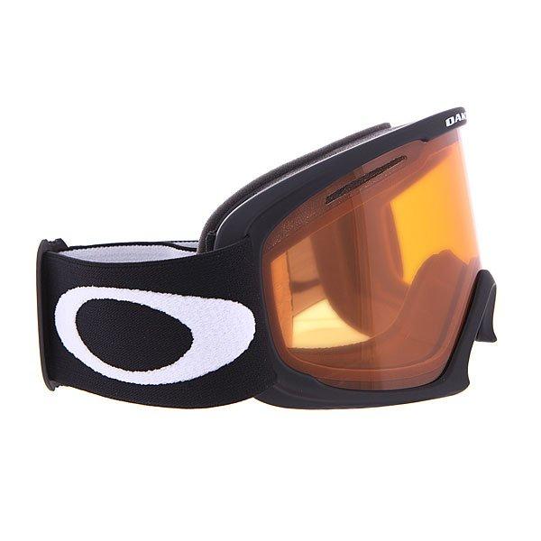 Маска для сноуборда Oakley 02 Xl Matte Black W/ Persimmon