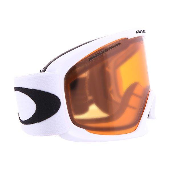 Маска для сноуборда Oakley 02 Xl Matte White W/ Persimmon