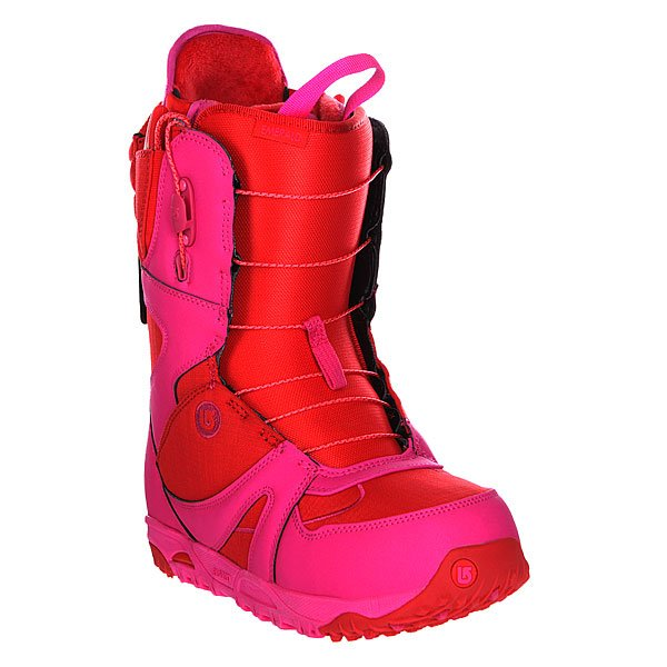 Ботинки для сноуборда женские Burton Emerald Red/Pink