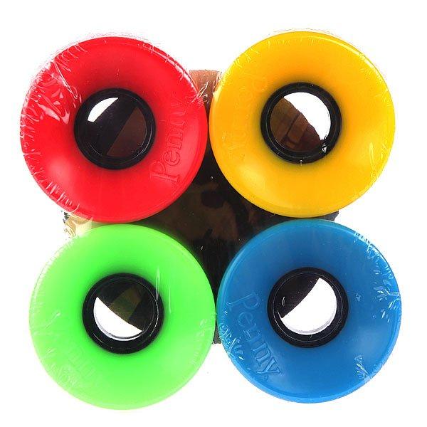 Колеса для скейтборда для лонгборда Penny Multi Wheels Blue/Green/Red/Yellow 79A 59 mm