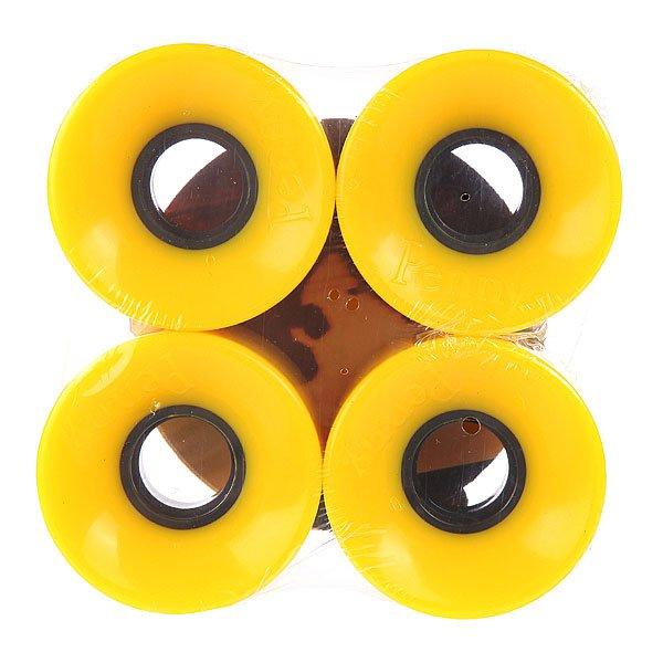 Колеса для скейтборда для лонгборда Penny Solid Wheels Yellow 79A 59 mmДиаметр: 59 mm    Жесткость: 79A    Цена указана за комплект из 4-х колес<br><br>Цвет: желтый<br>Тип: Колеса для лонгборда