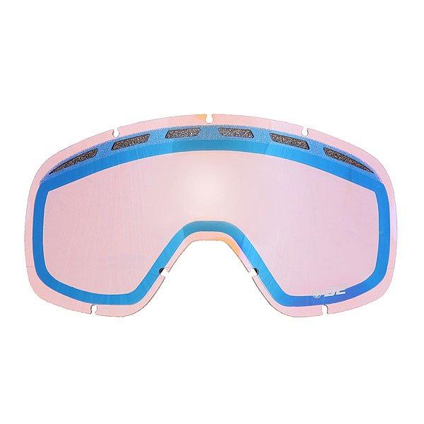 Линза для маски Dragon D2 Rpl Lens One Blue SteelКлассические линзы  Dragon D2 подходят для детей, женщин, а также для тех, кто предпочитает более компактные маски. Линзы изготовлены из пластичного материала Лексана, который при ударе не образует острых осколков, сохраняя Ваши глаза в безопасности при любых условиях.Технические характеристики: Подходит для любых погодных условий.Прочные и одновременно гибкие линзы.Линзы на 100% блокируют вредное ультрафиолетовое излучение.Устойчивое к царапинам покрытие.Система вентиляции, препятствующая запотеванию.Технология антизапотевания Super Anti-Fog.Линза соответствует оптическому стандарту ANSI Z87.1.Материал - прочный поликарбонат Лексан.Светопропускная способность - 35%-45%.Для моделей масок D2.<br><br>Цвет: синий,розовый<br>Тип: Линза для маски<br>Возраст: Взрослый<br>Пол: Мужской