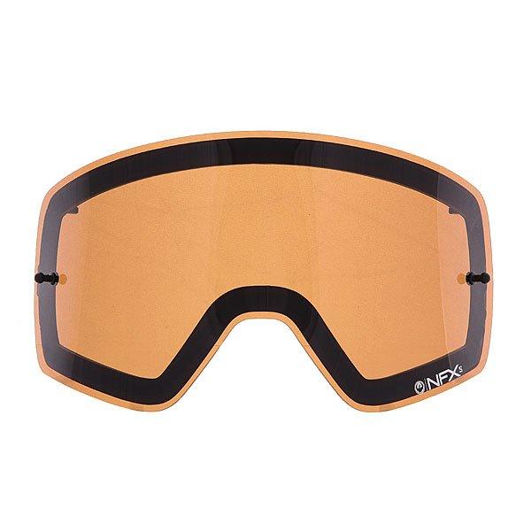 Линза для маски (мото/вело) детский Dragon Nfxs Rpl Lens Aft Amber