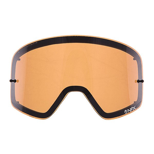 Линза для маски (мото/вело) Dragon Nfx Rpl Lens Aft JetОтличный обзор благодаря новой бескаркасной технологии Infinity Lens Technology, которая обеспечивает хорошую производительность, а современный пластичный материал Лексан позаботится о безопасности Ваших глаз, потому как  он не разбивается, и не создает угрозы травмирования. Также предусмотрена возможность установки отрывных линз.Технические характеристики: Бескаркасная технология Infinity Lens Technology обеспечивает максимальный обзор.Прочные и одновременно гибкие двойные линзы.Линза абсолютно не искажает обзор благодаря своей геометрии.Линзы на 100% блокируют вредное ультрафиолетовое излучение.Устойчивое к царапинам покрытие.Технология антизапотевания Super Anti-Fog.Линза соответствует оптическому стандарту ANSI Z87.1.Материал - прочный поликарбонат Лексан.Возможно установить 30 отрывных линз.Светопропускная способность - 35%-40%.Для моделей масок Nfx.<br><br>Цвет: оранжевый<br>Тип: Линзы<br>Возраст: Взрослый<br>Пол: Мужской