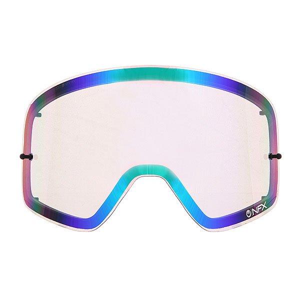 Линза для маски (мото/вело) Dragon Nfx Rpl Lens Aft Ionzd GreenОтличный обзор благодаря новой бескаркасной технологии Infinity Lens Technology, которая обеспечивает хорошую производительность, а современный пластичный материал Лексан позаботится о безопасности Ваших глаз, потому как  он не разбивается, и не создает угрозы травмирования. Также предусмотрена возможность установки отрывных линз.Технические характеристики: Бескаркасная технология Infinity Lens Technology обеспечивает максимальный обзор.Прочные и одновременно гибкие двойные линзы.Ионизированное покрытие.Линза абсолютно не искажает обзор благодаря своей геометрии.Линзы на 100% блокируют вредное ультрафиолетовое излучение.Устойчивое к царапинам покрытие.Технология антизапотевания Super Anti-Fog.Линза соответствует оптическому стандарту ANSI Z87.1.Материал - прочный поликарбонат Лексан.Возможно установить 30 отрывных линз.Светопропускная способность - 13%-15%.Для моделей масок Nfx.<br><br>Цвет: зеленый<br>Тип: Линзы<br>Возраст: Взрослый<br>Пол: Мужской