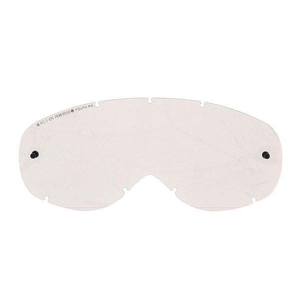 Линза для маски (мото/вело) детская Dragon Youth Mx Rpl Lens GreyЛинзы для маленьких спортсменов практически ничем не отличаются от взрослых братьев, разве, что только размером. Гибкая линза из материала Лексан, а также возможность использовать отрывные линзы, способствуют комфортному и безопасному использованию маски. Технические характеристики: Прочные и одновременно гибкие линзы.Линза абсолютно не искажает обзор благодаря своей геометрии.Линзы на 100% блокируют вредное ультрафиолетовое излучение.Устойчивое к царапинам покрытие.Технология антизапотевания Super Anti-Fog.Линза соответствует оптическому стандарту ANSI Z87.1.Материал - прочный поликарбонат Лексан.Возможность установки отрывных линз.Светопропускная способность -  33% - 35%.Для моделей масок Youth Mx.<br><br>Цвет: серый<br>Тип: Линзы<br>Возраст: Детский