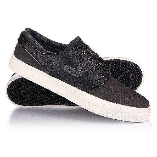 Купить Обувь   Кеды кроссовки Nike Zoom Stefan Janoski Prem Black/Anthracite Sail