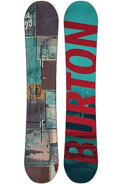 Купить Сноуборды   Сноуборд Burton Fw14-15 Process Off-axis No Color 157