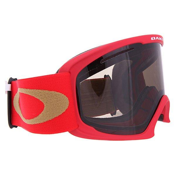 Маска для сноуборда Oakley O2 Xl Viper Red W/Dark Grey