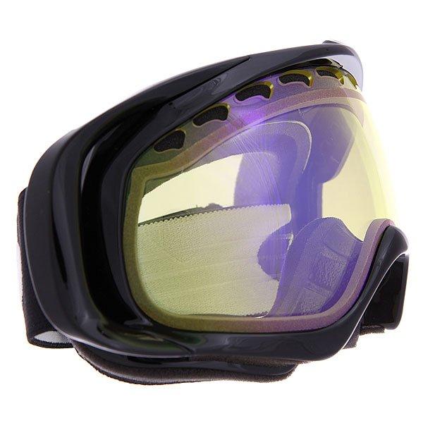 ����� ��� ��������� Oakley Crowbar Snow Jet Black/H.i. Yellow