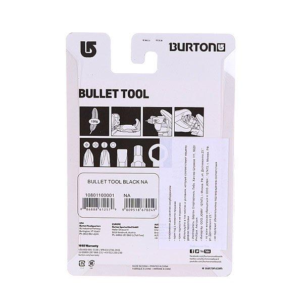 Отвертка универсальная Burton Bullet Tool Black от Proskater