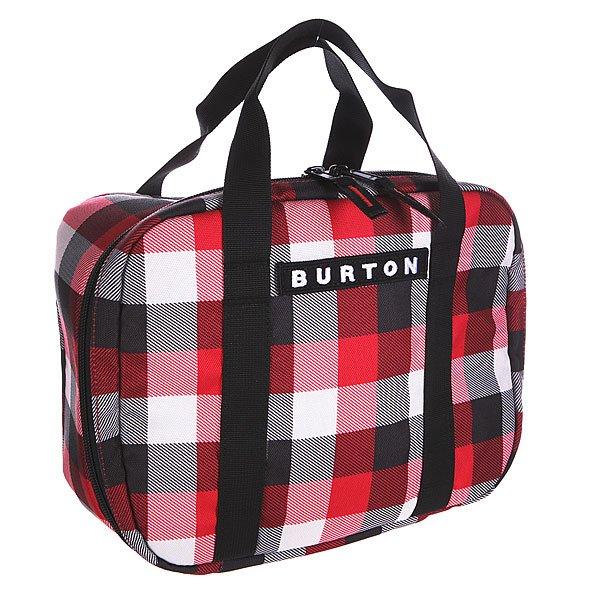 Сумка Burton Lunch Box Buffalo Plaid Crimson Dark GreyПростая и удобная сумка-кулер для завтрака чемпиона. Компактна и легко моется.Характеристики:  Легко чистящееся термоизолированное отделение на молнии.  Лямки на задней стенке позволяют с лёгкостью прикрепить ланчбокс к рюкзаку или сумке.<br><br>Цвет: мультиколор<br>Тип: Сумка<br>Возраст: Взрослый<br>Пол: Мужской