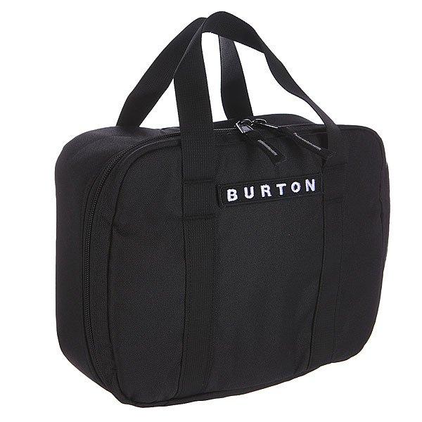 Сумка Burton Lunch Box True BlackПростая и удобная сумка-кулер для завтрака чемпиона. Компактна и легко моется.Характеристики:  Легко чистящееся термоизолированное отделение на молнии.  Лямки на задней стенке позволяют с лёгкостью прикрепить ланчбокс к рюкзаку или сумке.<br><br>Цвет: черный<br>Тип: Сумка через плечо<br>Возраст: Взрослый<br>Пол: Мужской