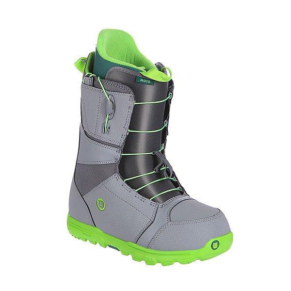 Ботинки для сноуборда Burton Moto Gray/Green
