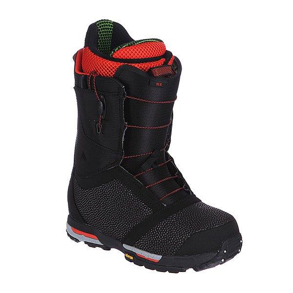 Ботинки для сноуборда Burton Slx Black/Red
