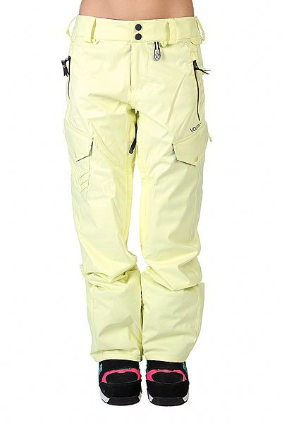 ����� ��������������� ������� Volcom Fw14-15 Sniper Pant Dust Yellow