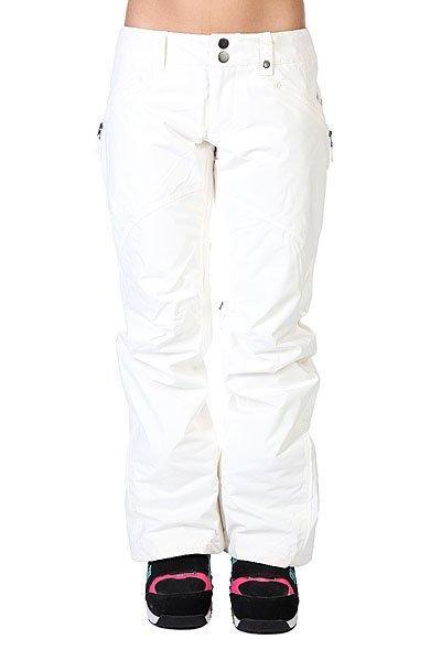 Штаны сноубордические женские Burton Fw14-15 Wb Society Pants Stout White