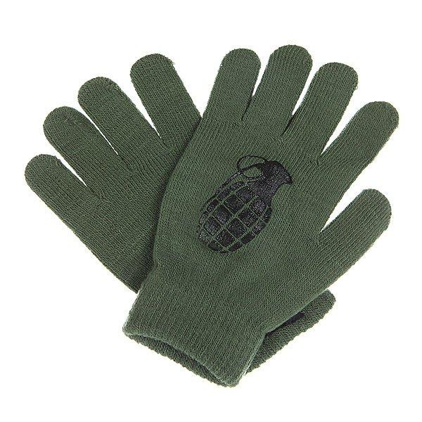 Перчатки Grenade Bomb Army/Black