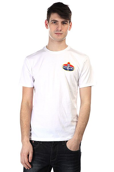 Футболка Huf Hector Tee White футболка huf last generation tee white