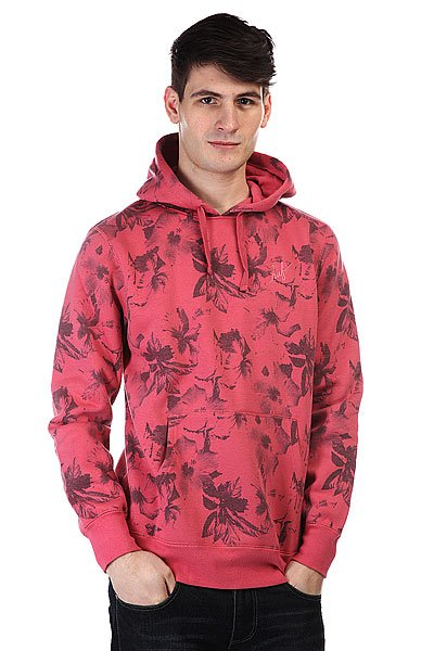 Кенгуру Huf Floral Pullover Hood Salmon Floral рубашка huf floral s s woven salmon floral
