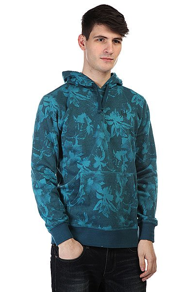 Кенгуру Huf Floral Pullover Hood Navy Floral толстовка кенгуру fallen brooklyn pullover hood forest green