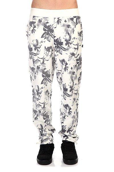 Штаны прямые Huf Floral Sweatpant White Floral штаны прямые huf floral sweatpant black floral
