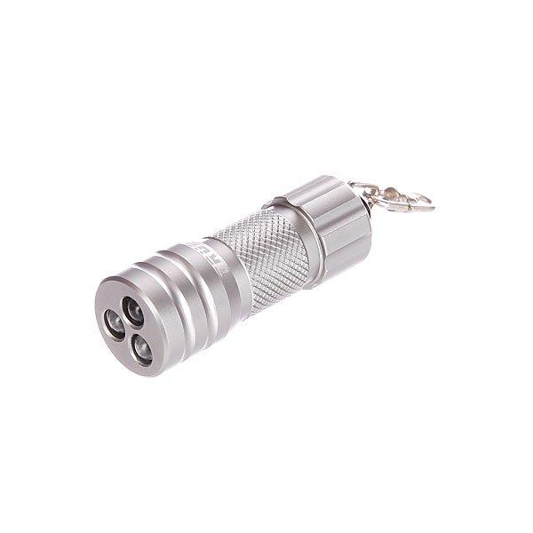 Брелок True Utility Compact Microlite 3 LedСверхяркий водонепроницаемый миниатюрный брелок-фонарик с тремя светодиодами по 0,22Вт каждый. Технические характеристики: Включение/выключение посредством поворота корпуса. Размеры: 48?19мм. Материал: высокопрочный авиационный алюминий с хромированным покрытием. Крепление, обеспечивающее вращение на кольце для ключей.<br><br>Цвет: серый<br>Тип: Брелок<br>Возраст: Взрослый