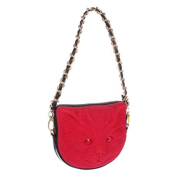 Сумка женская Adamo 3D Tuna Mao Purplish Red/BlackУникальная сумка Adamo 3D с уникальным 3D дизайном – специально для тех, кто ценит свою неповторимость и неординарность. Характеристики: Верх из пластика.  Внутренняя подкладка из тафты.  Застежка - молния.  Внутренний карман для телефона. Съемный удлиненный ремешок для ношения сумки через плечо.<br><br>Цвет: красный<br>Тип: Сумка<br>Возраст: Взрослый<br>Пол: Женский