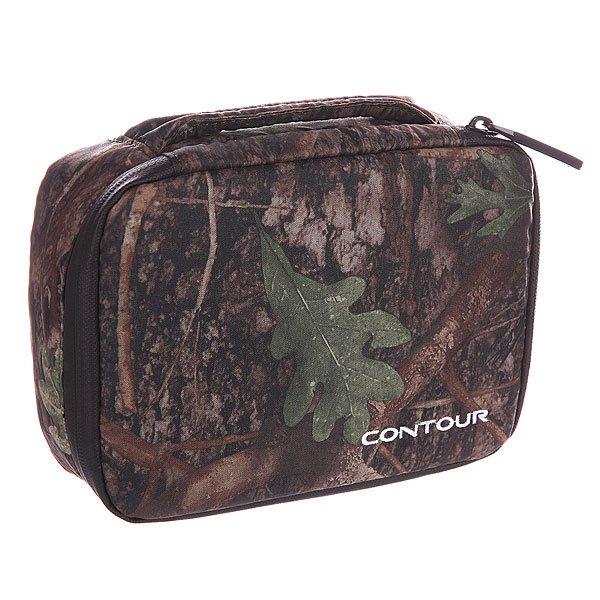 Кейс для камеры Contour 3220 Camera Case CamoКамуфляжная сумкаContour Camo Camera Case- это лучший способ носить с собой вашукамеру Контуриаксессуары. Отдельные отсеки для видеокамеры, карт памяти, дополнительного аккумулятора и креплений - и у вас всегда все под рукой. Сумка изготовлена из прочной непромокаемой ткани и защитит гаджеты при любой погоде, а маскировочный окрас придаст индивидуальности и не будет выделятся на фоне вашего охотничьего или рыбацкого костюма. Отличное дополнение к новой камереContour ROAM 2 Sportsman Edition. Характеристики:Кейс совместим с камерами Contour HD, Contour GPS, Contour +, Contour ROAM, Contour + 2, ContourROAM2.  Кейс обладает универсальным окрасом, благодаря которому сумка будет отлично гармонировать с рыболовным и охотничьим снаряжениями.  В сумке имеется достаточное количество карманов, для того, чтобы поместить все самое необходимое.  Отсеки для аксессуаров, крепления, проводов и аккумулятора.  Contour Camo Camera Case выполнен из водоотталкивающей ткани, которая защищает от влаги хранящиеся внутри кейса гаджеты. Этот универсальный и современный кейс поставляется в фирменной упаковке производителя.<br><br>Цвет: зеленый,бежевый,камуфляжный<br>Тип: Сумка для фототехники<br>Возраст: Взрослый<br>Пол: Мужской