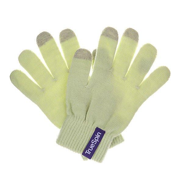 Перчатки TrueSpin Touch Glove SandЗимние перчатки от немецкого бренда True Spin с сенсорными пальцами, которые позволт пользоватьс смартфоном или планшетом, не снима их с рук.Технические характеристики: Взаные перчатки.Специальна обработка на кончиках пальцев дл пользовани сенсорными устройствами.Эластичные манжеты.<br><br>Цвет: зеленый<br>Тип: Перчатки<br>Возраст: Взрослый<br>Пол: Мужской