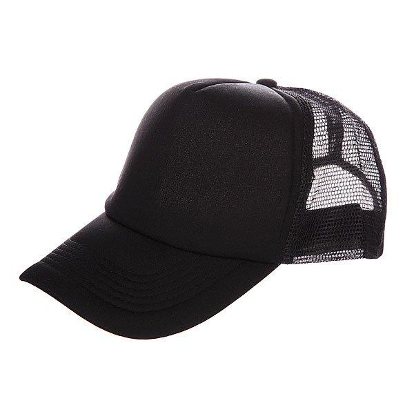 Бейсболка с сеткой TrueSpin Basic Trucker Black<br><br>Цвет: черный<br>Тип: Бейсболка с сеткой<br>Возраст: Взрослый