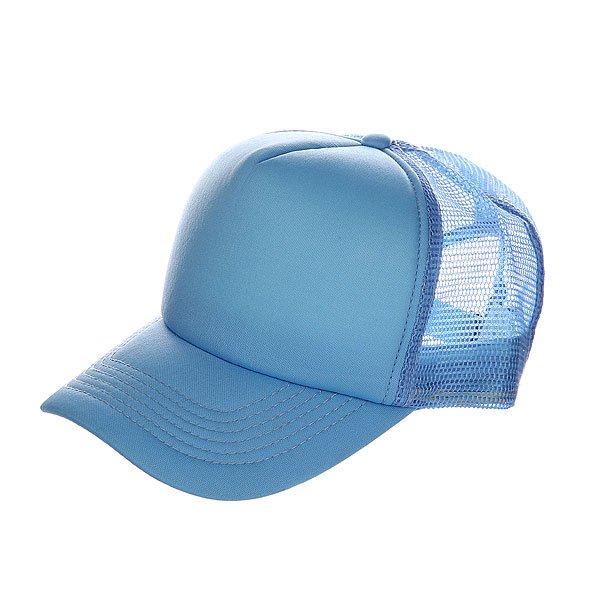 Бейсболка с сеткой TrueSpin Basic Trucker Blue<br><br>Цвет: голубой<br>Тип: Бейсболка с сеткой<br>Возраст: Взрослый<br>Пол: Мужской