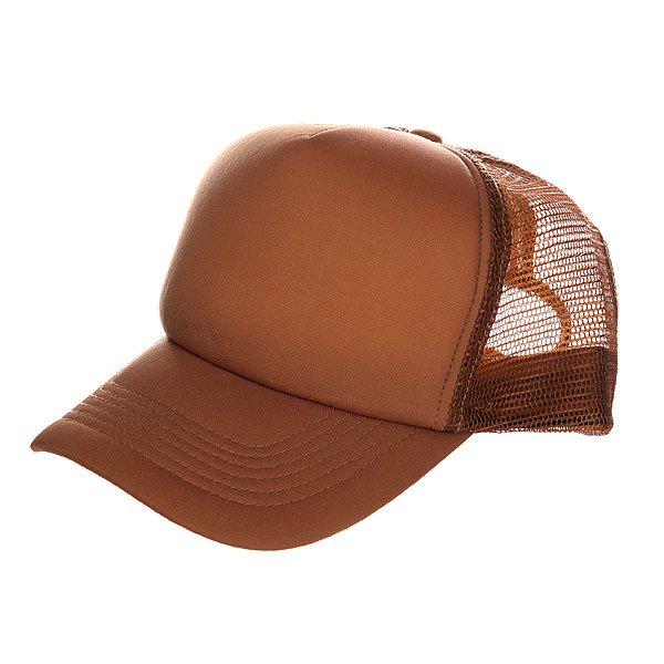 Бейсболка с сеткой TrueSpin Basic Trucker Duck/Brown<br><br>Цвет: коричневый<br>Тип: Бейсболка с сеткой<br>Возраст: Взрослый<br>Пол: Мужской
