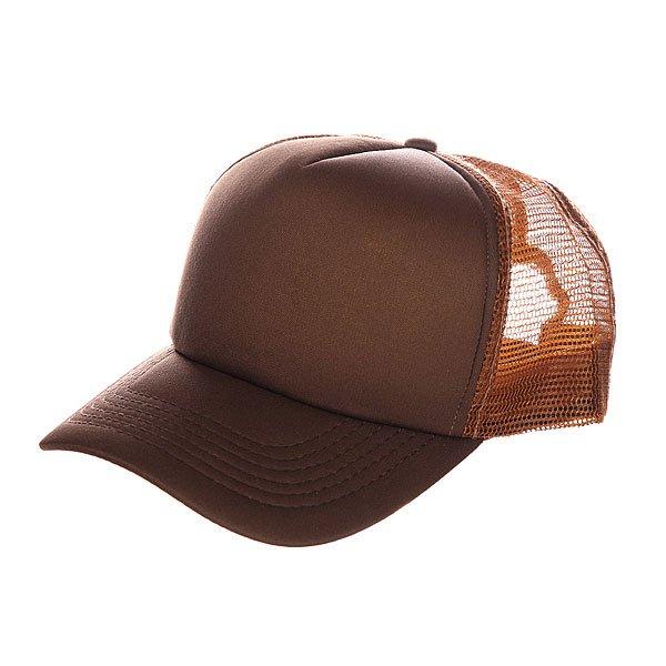 Бейсболка с сеткой TrueSpin Combo Trucker Brown/Beige<br><br>Цвет: коричневый<br>Тип: Бейсболка с сеткой<br>Возраст: Взрослый<br>Пол: Мужской